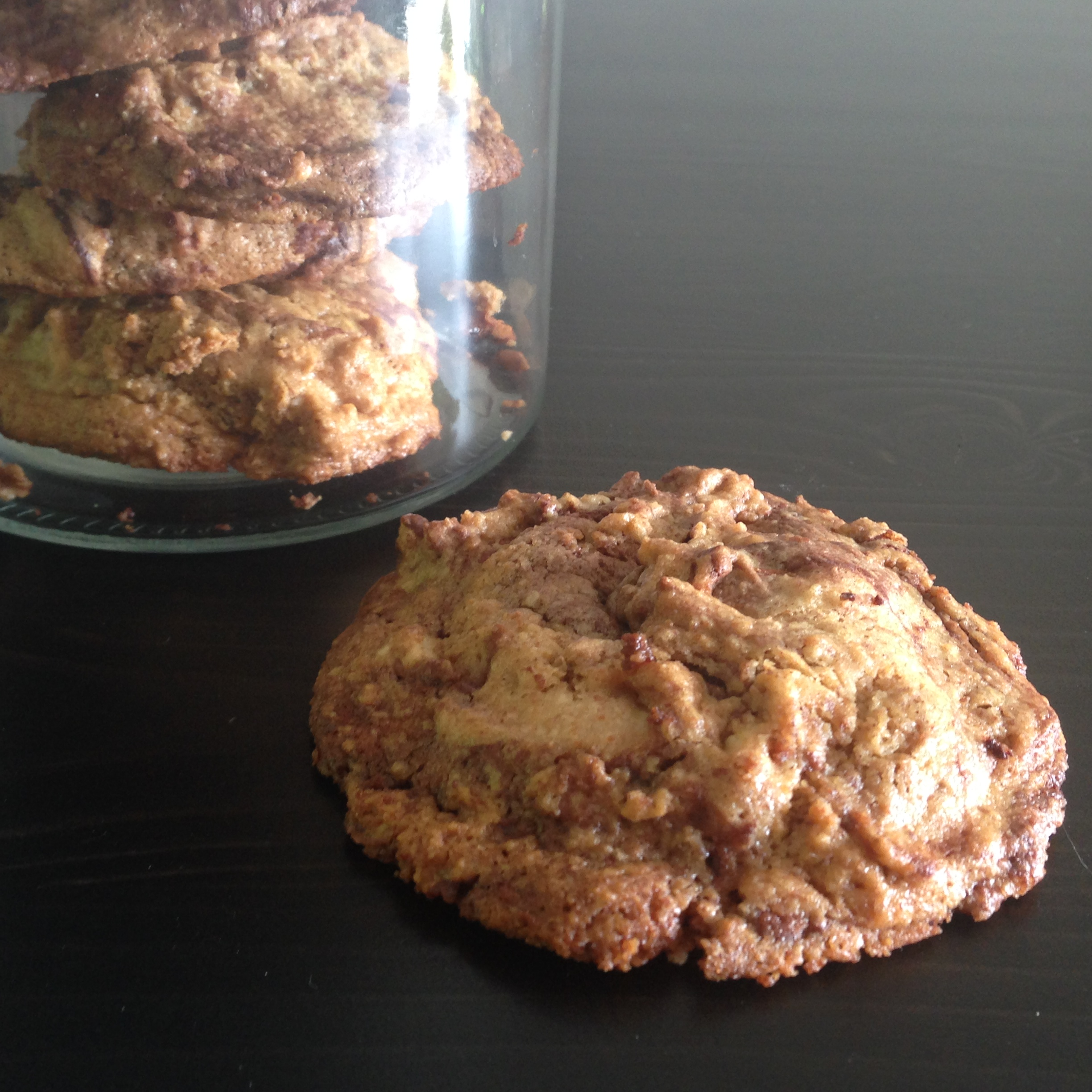 Vegan chocolate coconut chip cookies
