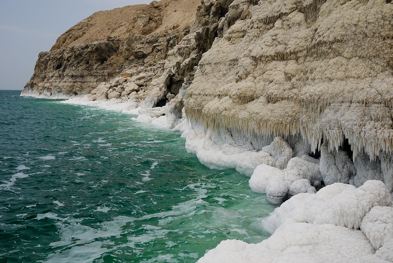 The Dead Sea is known for its natural curative effects on skin ailments. And so, so gorgeous.