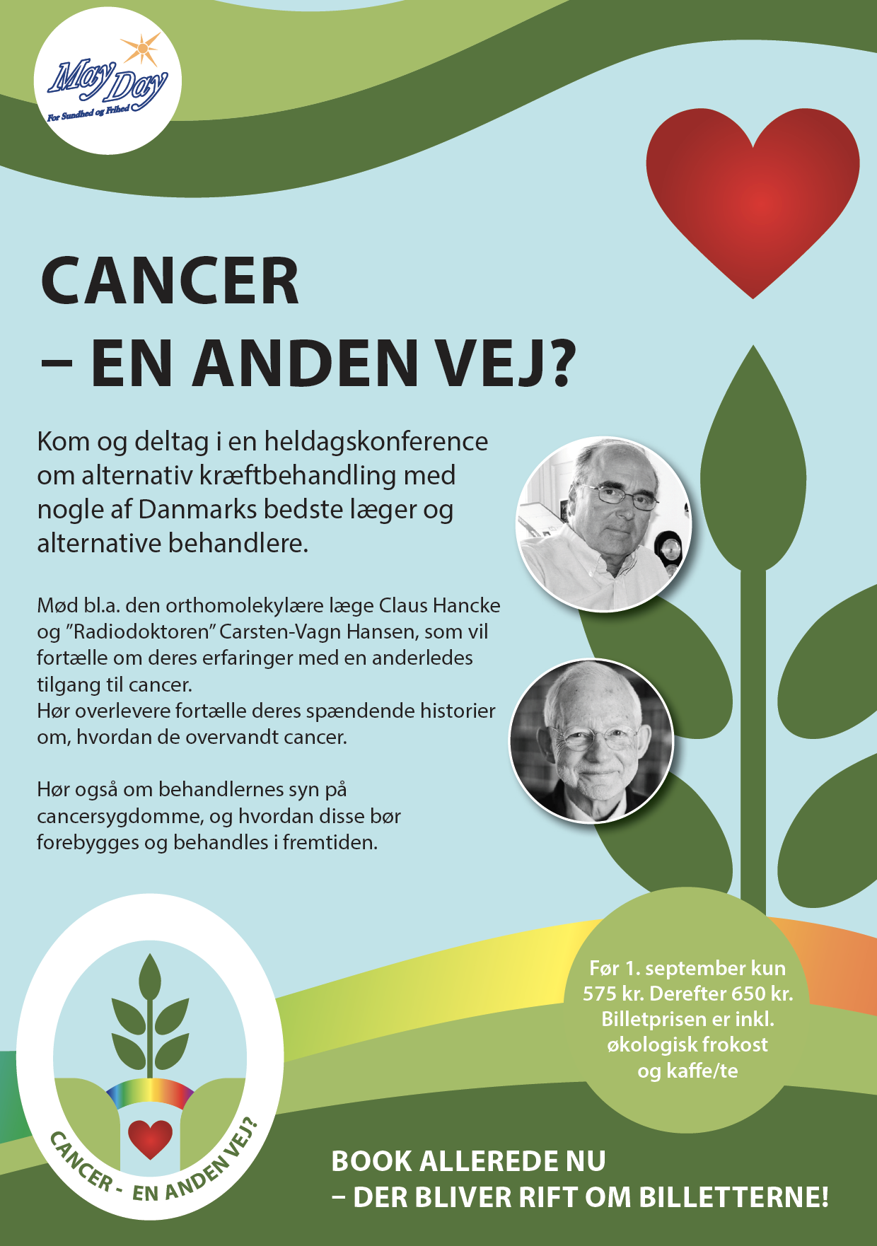 SPEAKER: Lecture at the Cancer Conference in Copenhagen 2018 on