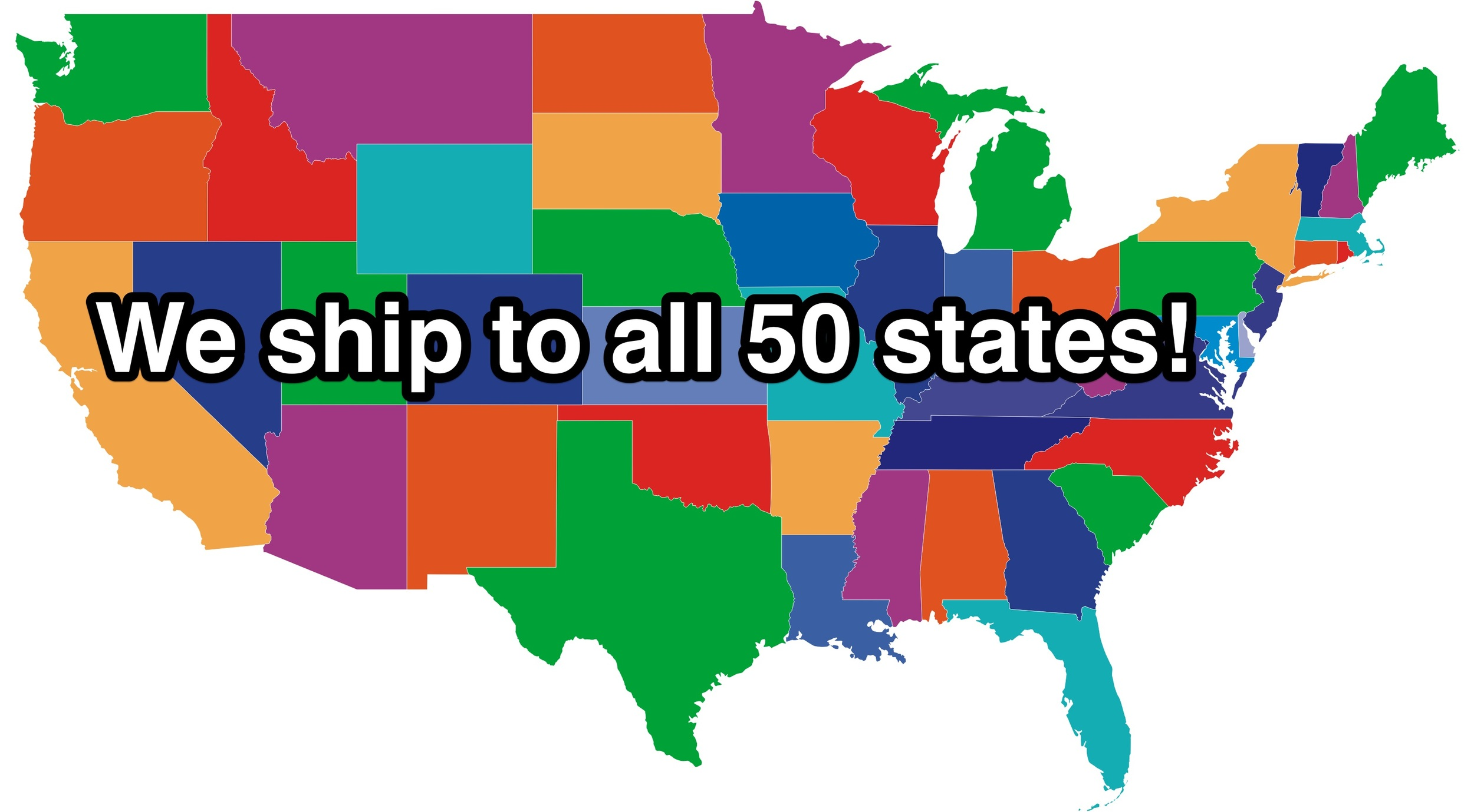 Yes! We ship to all 50 states (even Alaska and Hawaii).