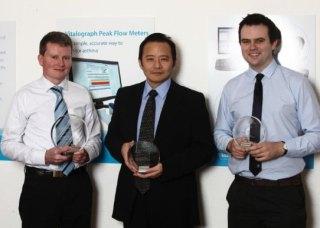 Receiving InterTrade Ireland FUSION Exemplar Award, 2013