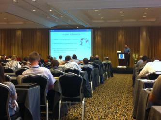 Podium presentation at 20th International Congress on Aerosols in Medicine and Pulmonary Drug Delivery, Munich 2015