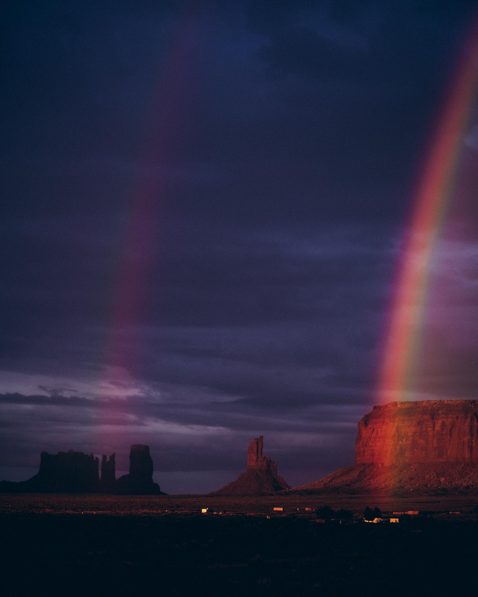 Double Rainbow, Monument Valley