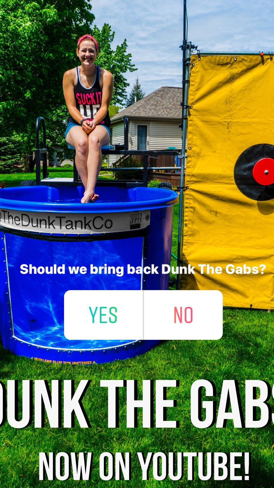 Dunk Tank Trivia - Dunk The Gabs