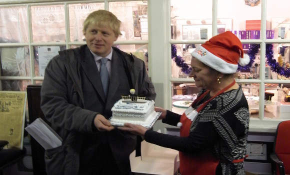 Boris Visits the market in 2011