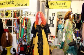 FABULIST    WOOD STREET INDOor MARKET IS PROUD TO HAVE ITS VERY OWN COSTUME HIRE SHOP. FABULIST SPECIALISES IN WEIRD AND WONDERFUL ATTIRE INCLUDING VINTAGE THEATRE COSTUME, ITEMS SOURCED DIRECTLY FROM CABARET PERFORMERS AS WELL AS ONE-OFF CUSTOMISED PIECES. POP IN TO Discuss your costume hire needs or simply to buy a unique item of clothing or quirky accessory.