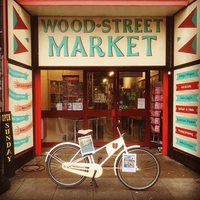 @e17dutchbikes  FLASH SALE ALERT! Tomorrow at our shop, 20% off all vintage Dutch bikes . . . #bike #bikelife #e17 #walthamstow #woodstreetindoormarket #dutchbikes  #amsterdam #dutch