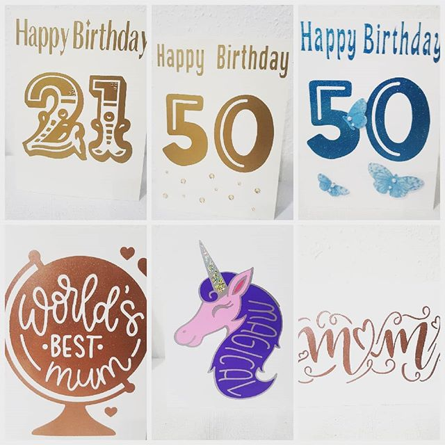 Still restocking cards after chaos of Christmas.  #cards #number #specialcard #birthday #50 #21 #gifts #personalise #woodstreet #walthamstowparents #walthamforest #welovemarkets #unicorns #glittervinyl