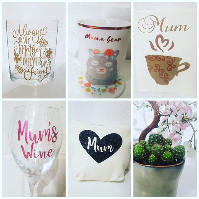 Few ideas for Mothers day. Don't forget your Mum #makeupbag #glasses #personalised #cards #mothersday #cacti #E17 #walthamstowparents #walthamforest