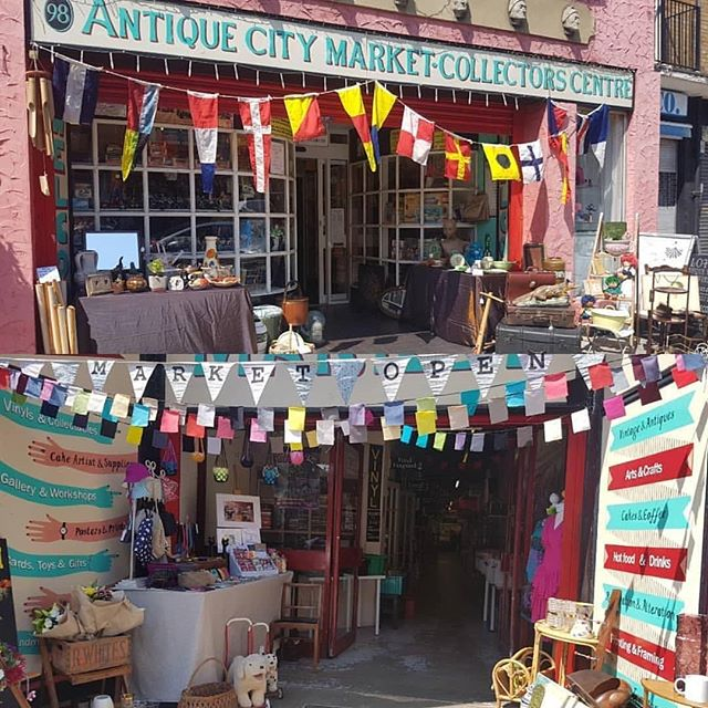 Open today Good Friday Happy Easter everyone #cards #gift #antiques #vintage #retro #wool #bags #vinyl #taco #bike #costumes #art #wedding