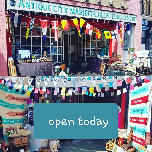 First Sunday of the month so we are open. #welovemarkets #sunday #markets #E17 #London #woodstreet