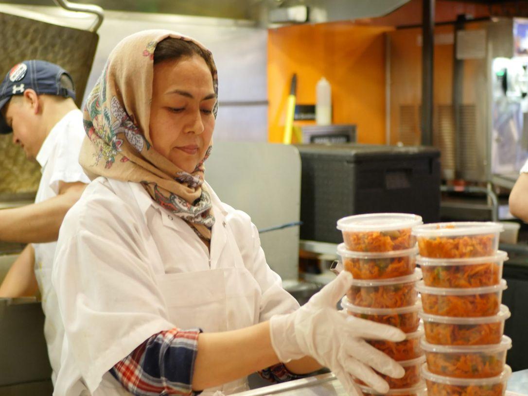 Naseema has been working at Dizengoff