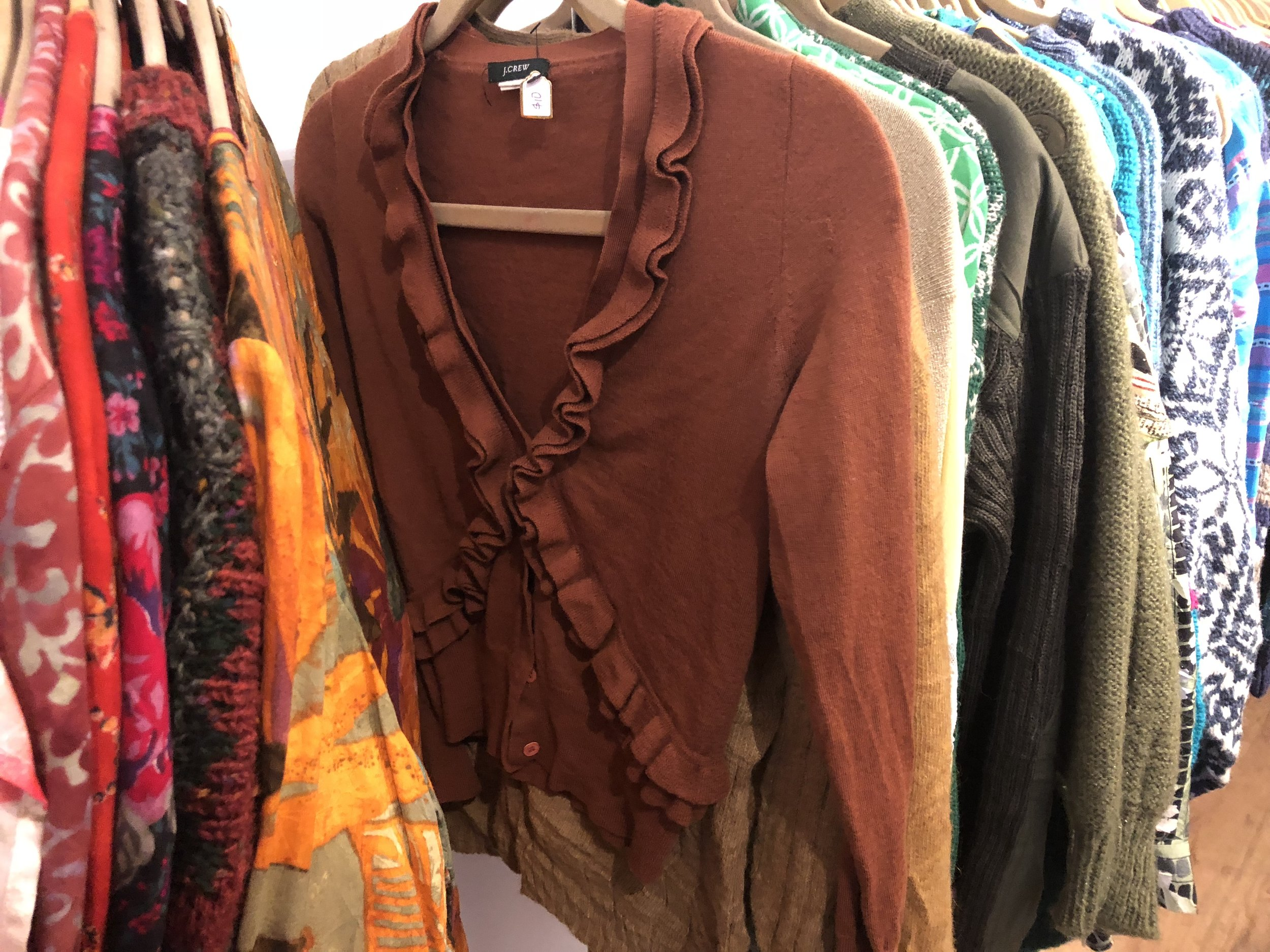 AuH2O has the cutest and most affordable pieces to keep you warm throughout the fall.  Photo: Samantha Coulter.