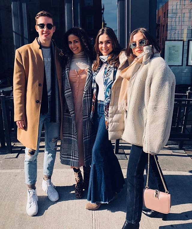 a squad that slays 🌟 #nyufashion