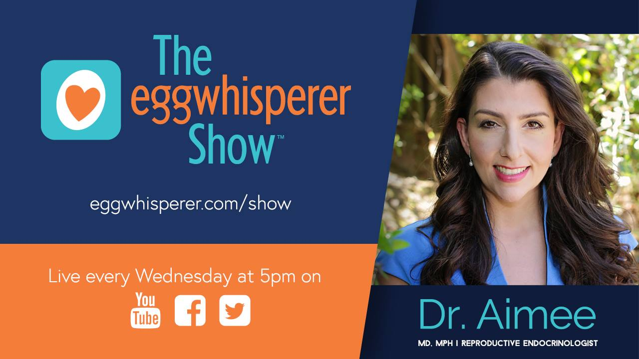 Watch my interview with Dr. Aimee on the The Egg Whisperer Show