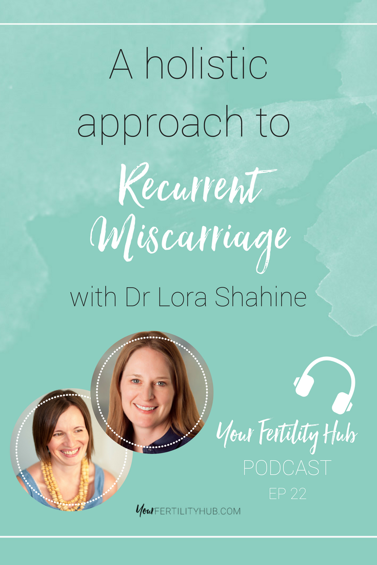 Podcast and video interview with Karenna Wood from Your Fertility Hub