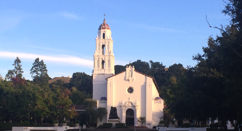 St. mary's college in the rolling hills of moraga, california