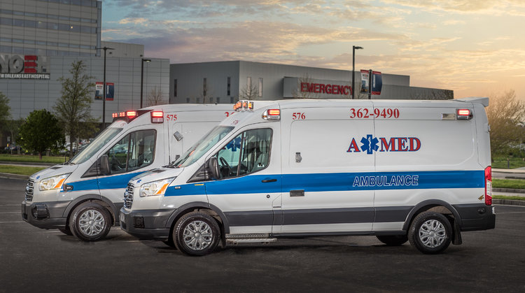 A-MED Ambulance Service | New Orleans Medical Transportation
