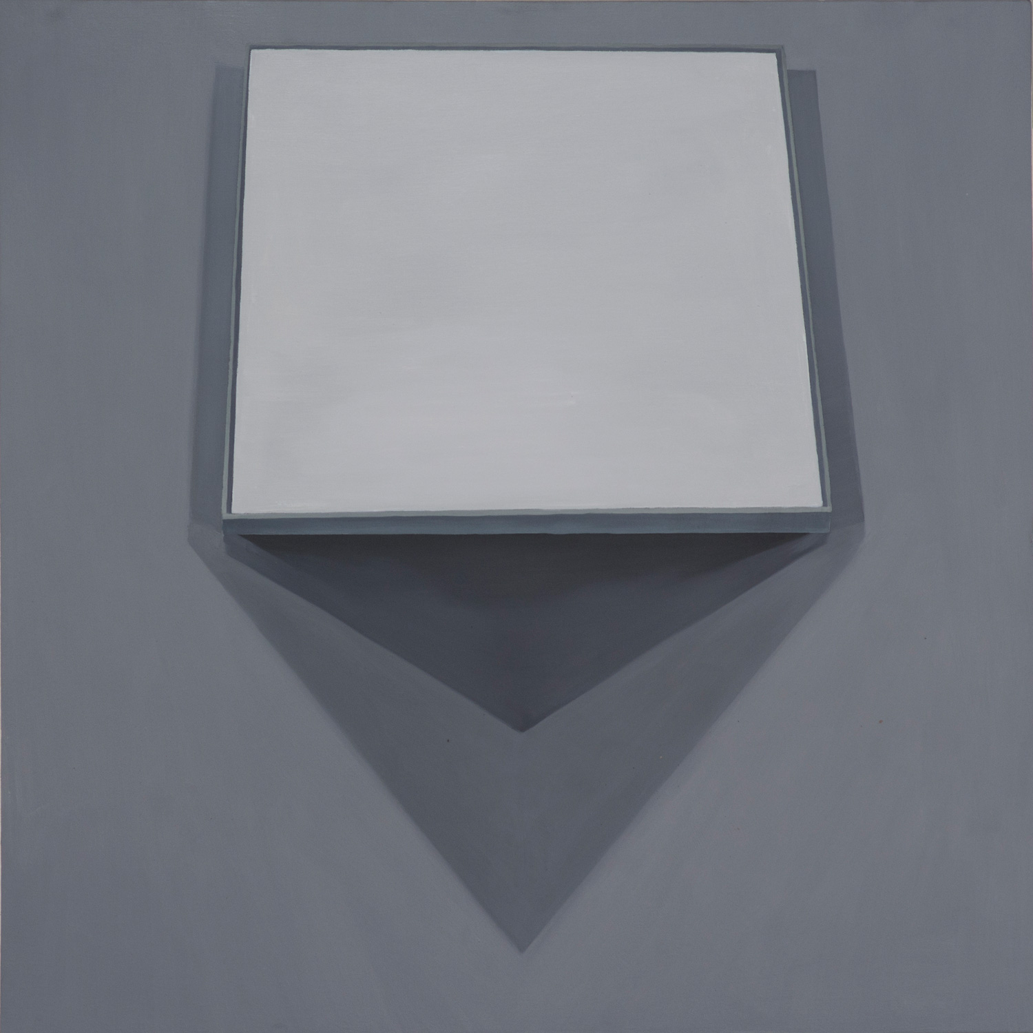 Black Square (1915), 2015, oil on canvas mounted on board, 80x80cm