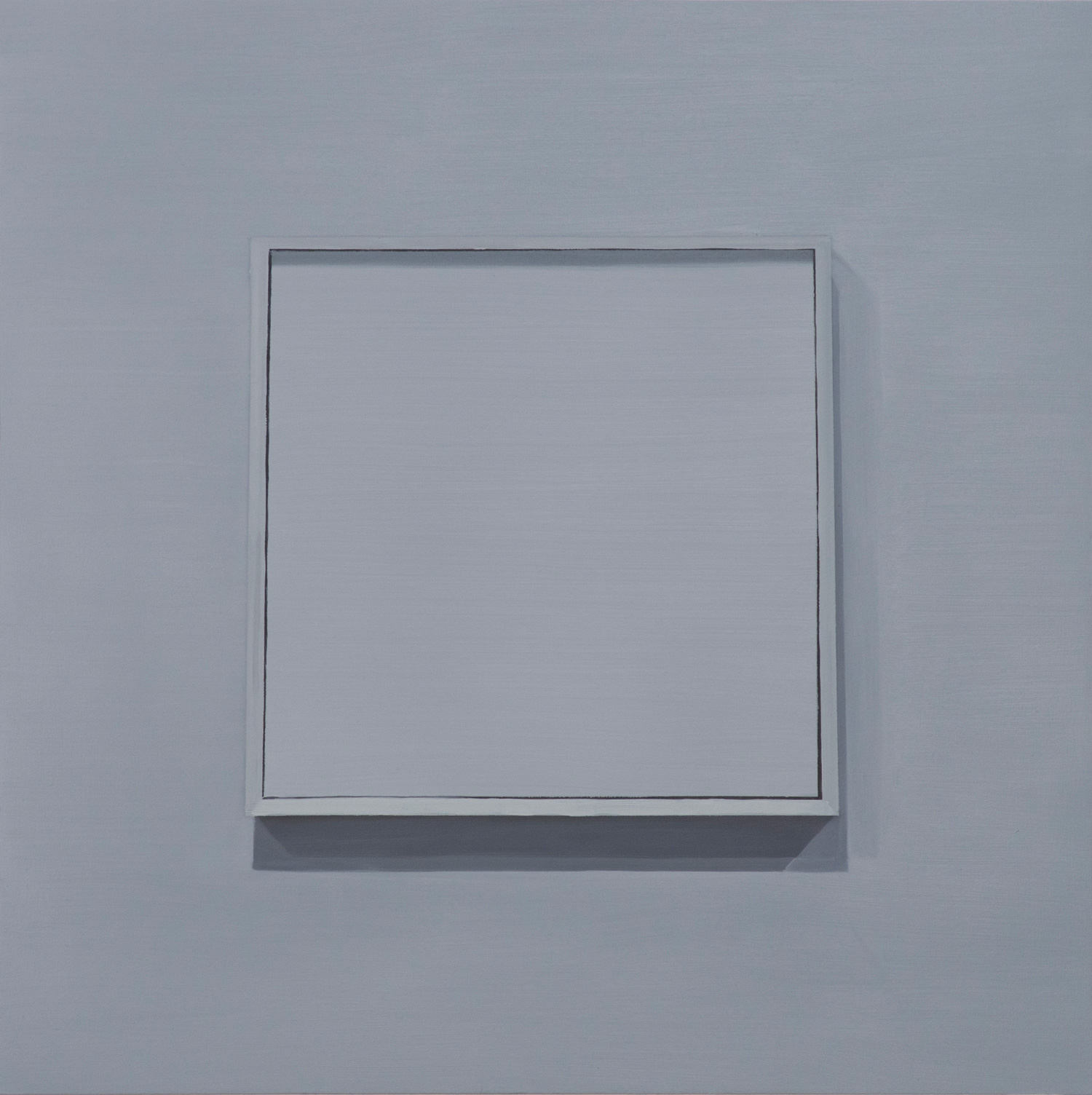 Suprematist Non-Objective Composition (1915), 2015, oil on canvas mounted on panel, 80x80cm