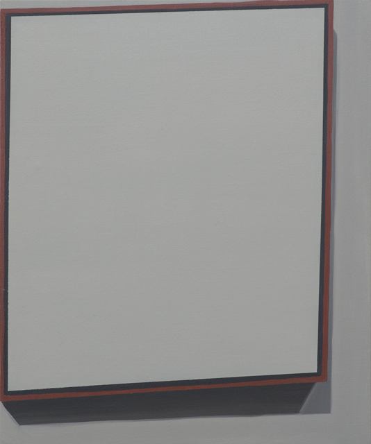 Suprematist Composition with Eight Rectangles (1915), 2015, oil on canvas mounted on panel, 58x48cm