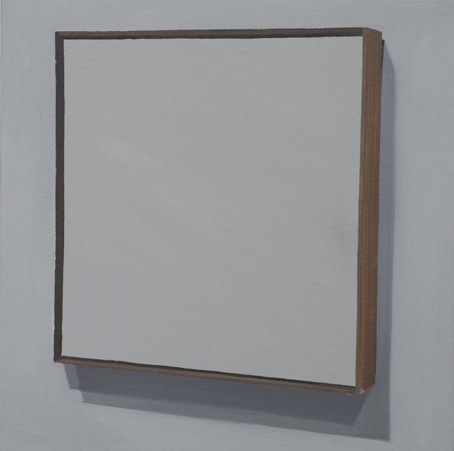Suprematism (1915), 2015, oil on canvas mounted on panel, 49x49cm