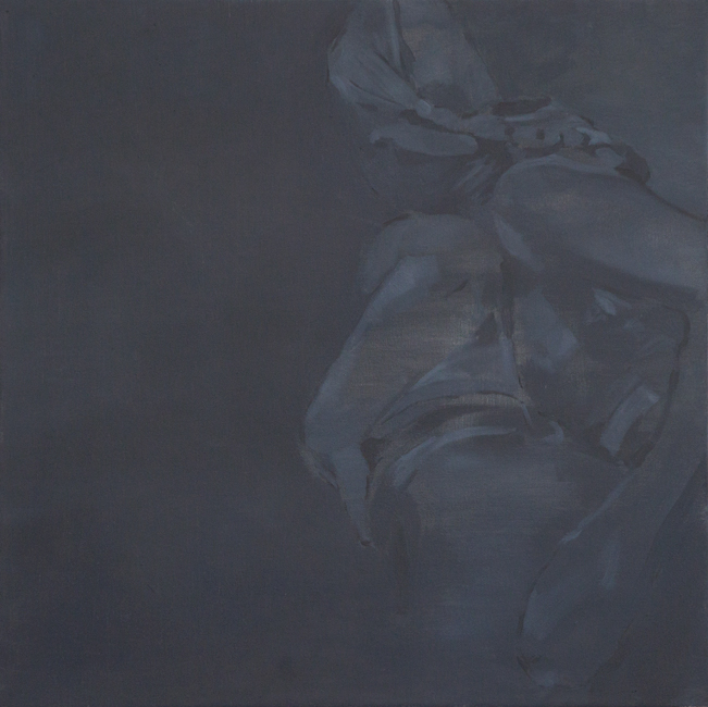 Contact, 2011, oil on canvas mounted on panel, 53x53cm