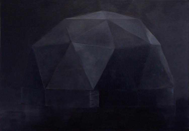 Vessel, 2010, oil on canvas, 143x203cm