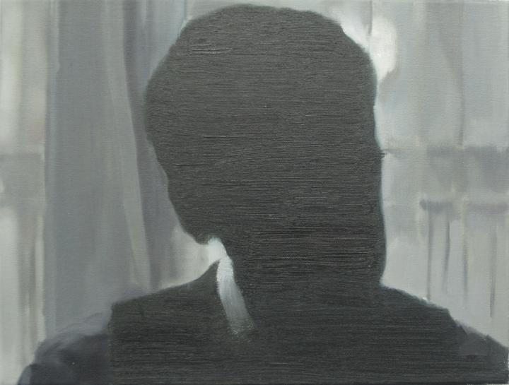 Confidences, 2011, oil on canvas, 30x40cm