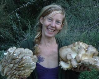 Happy as an oyster... mushroom, Los Angeles CA