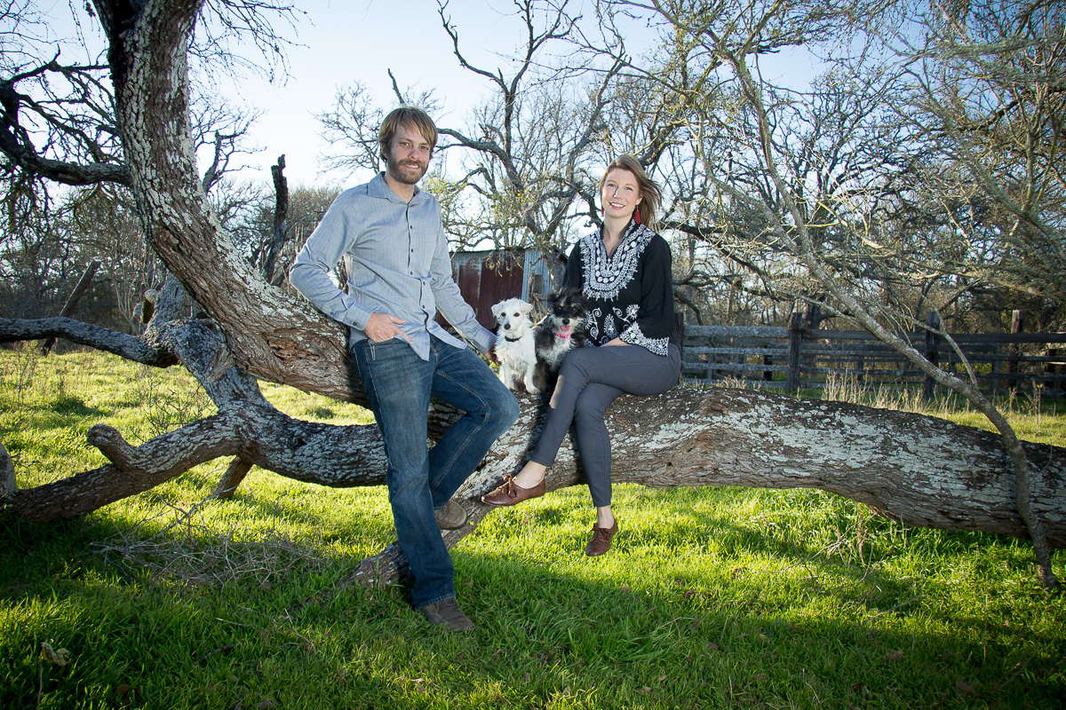 Josh Ball & Ivey Kaiser - husband & wife team/managers of The Ball Farm