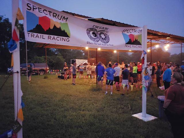 The race has begun! @spectrumtrail #TheGame #LastRunnerStanding #TheBallFarm