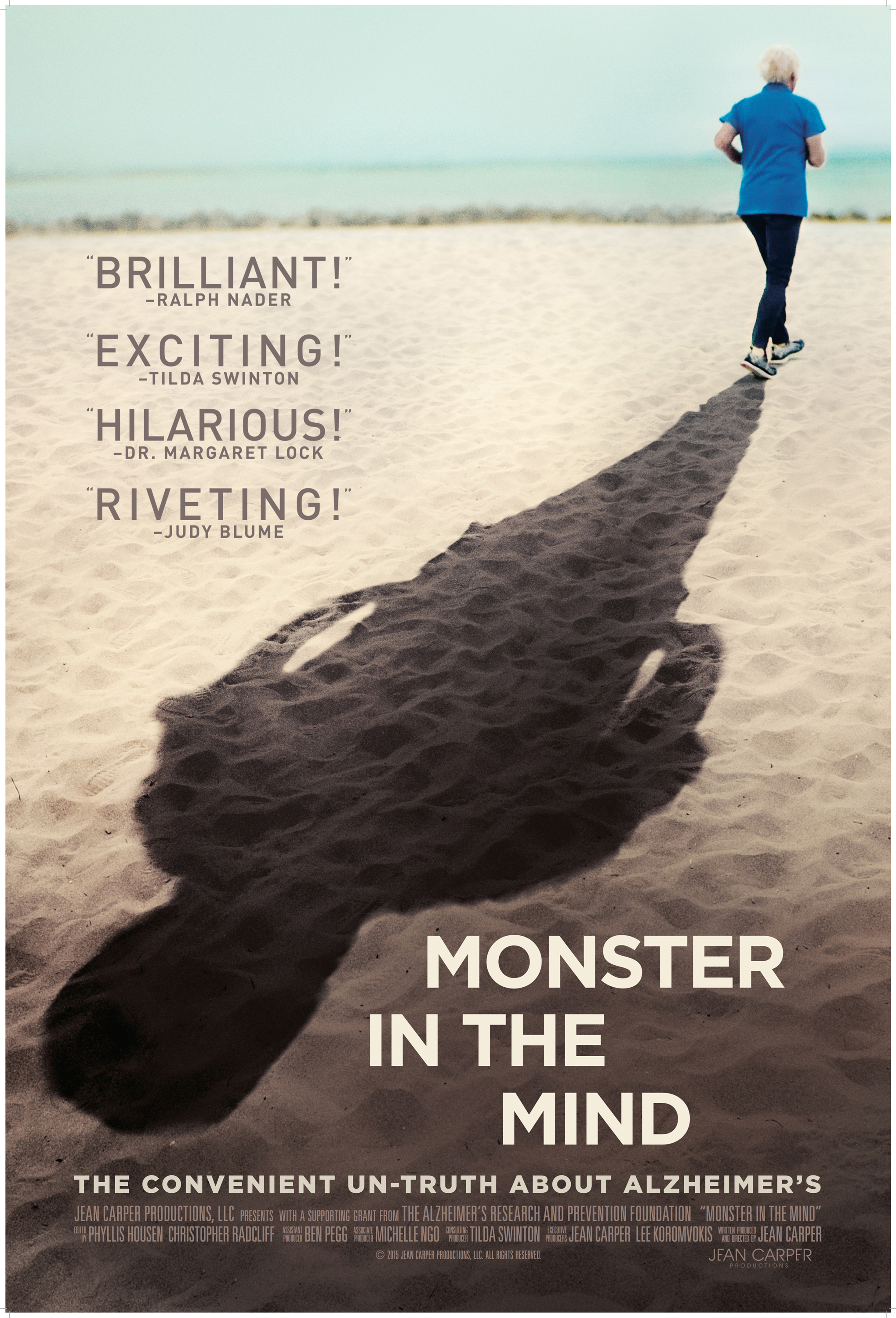"""""""Monster in the Mind"""" promotional poster"""