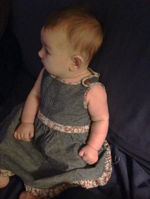 Elliott Iris at 4 months old.