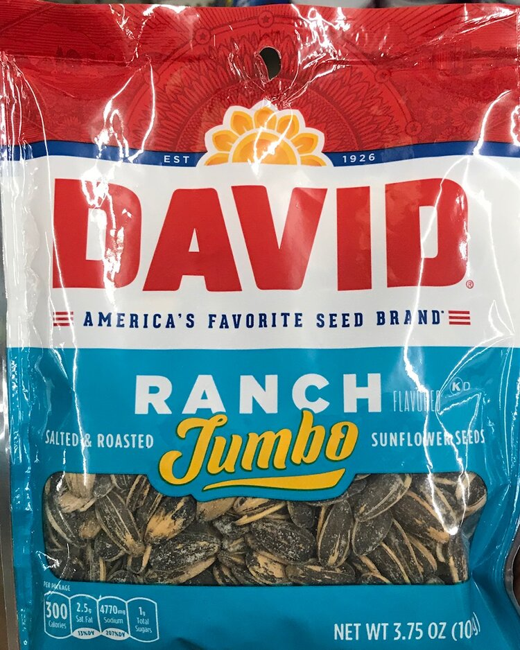 Keto-friendly snack at Dollar Tree - Jumbo Sunflower Seeds