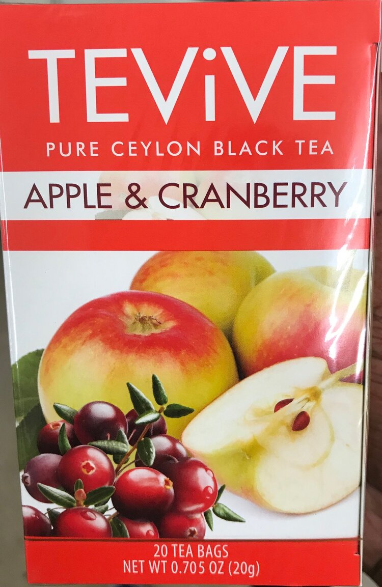 Keto-friendly drink at Dollar Tree - Apple & Cranberry Tea Bags
