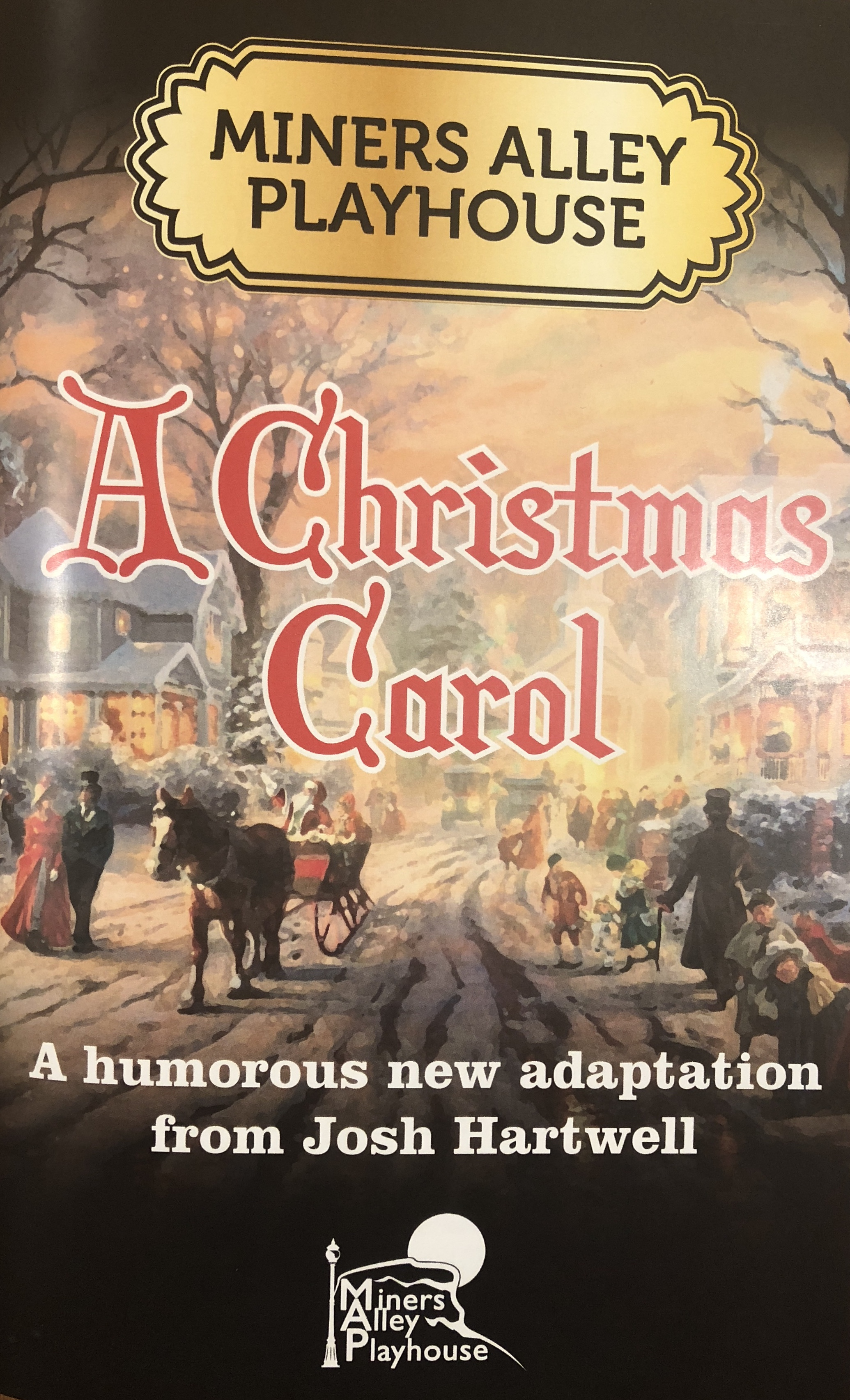 Miners Alley Playhouse  A Christmas Carol