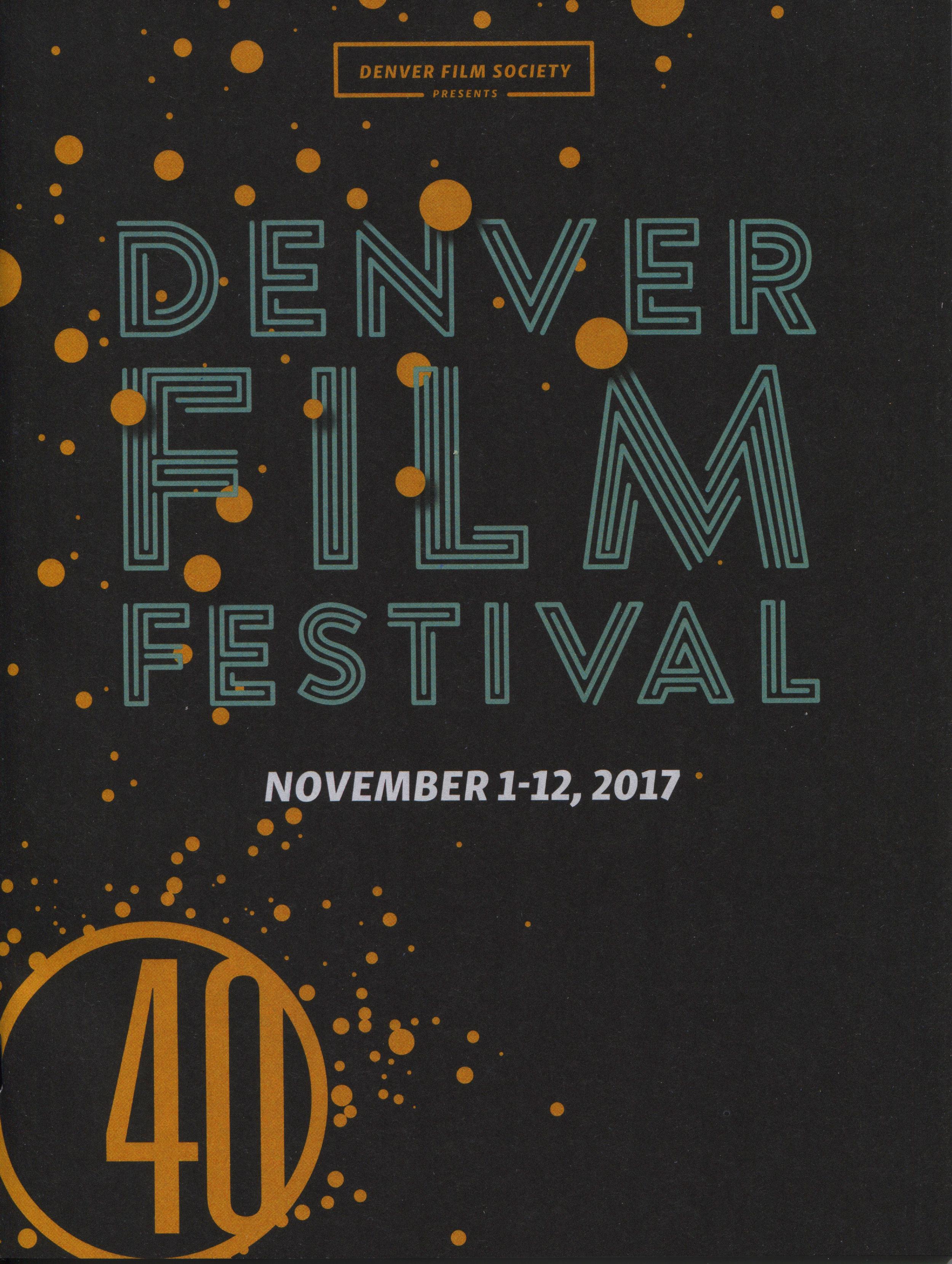 Denver Film Festival 40 Program