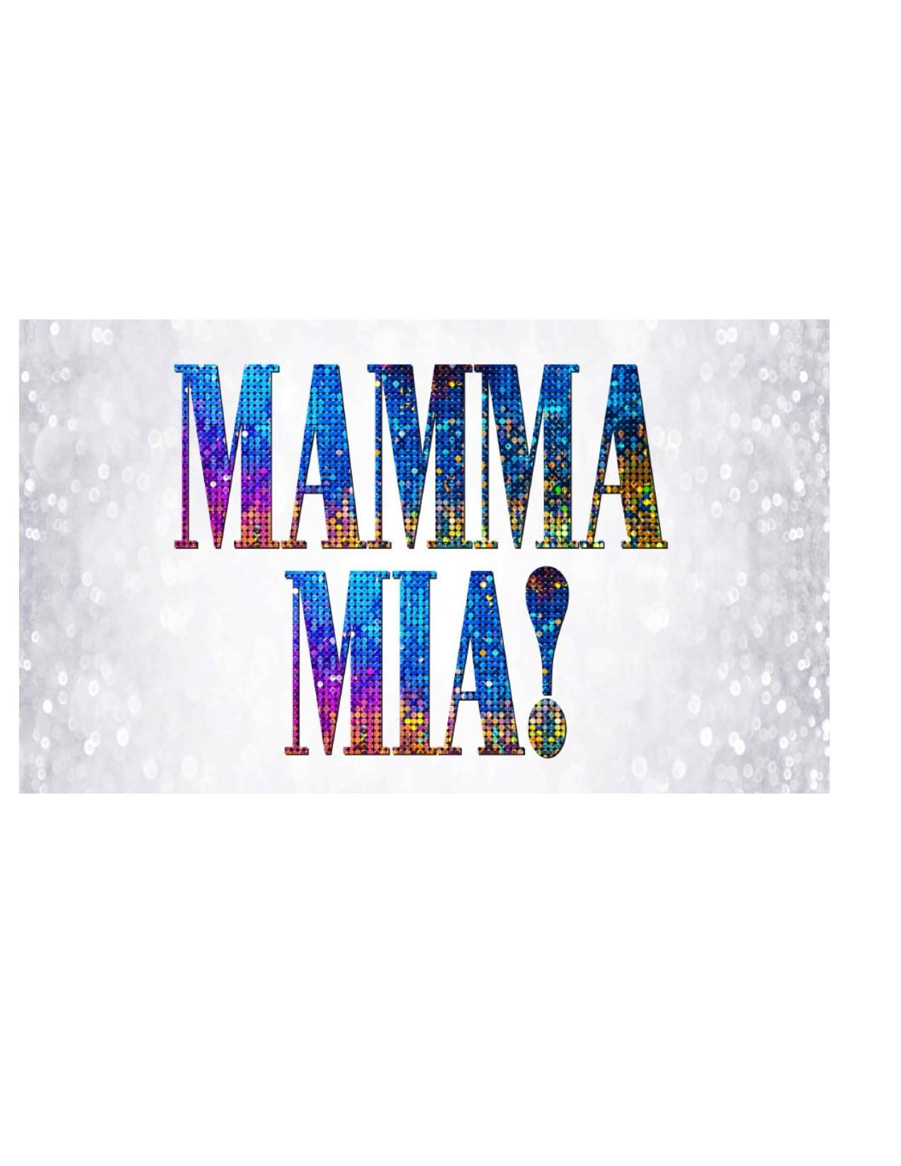 Mama Mia Banner