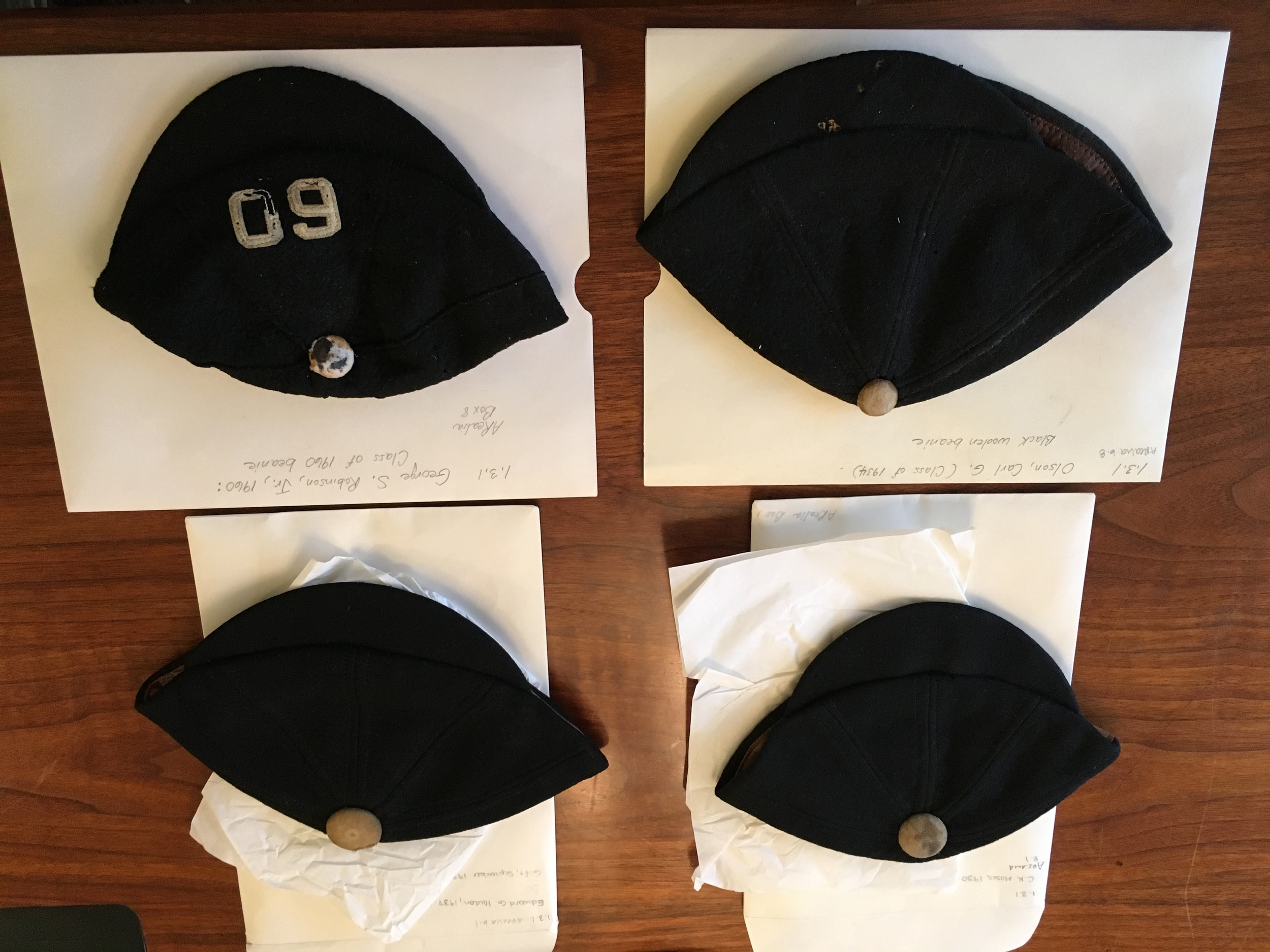 Bowdoin Beanies throughout the years
