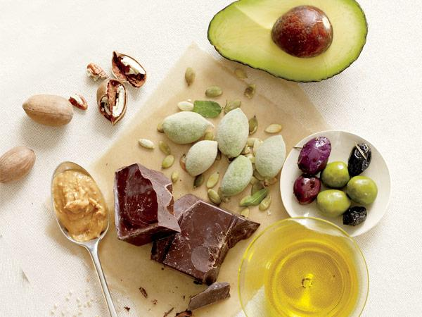Healthy fats come in a variety of forms