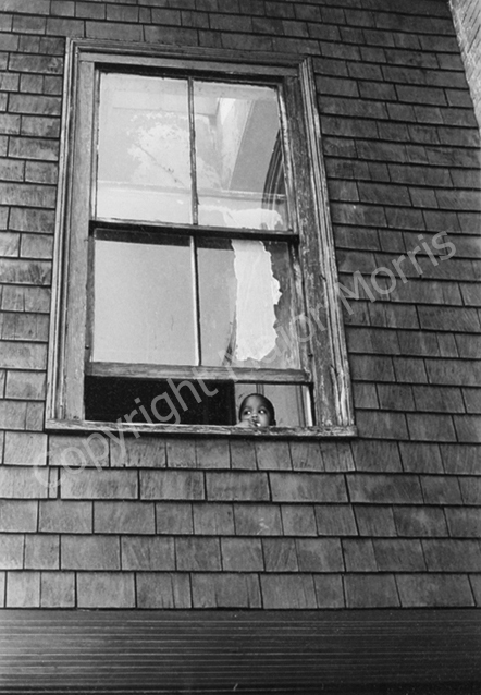 At Home Alone  Black & White Photograph 11.5 x 8 inches Framed to 14 x 11 inches
