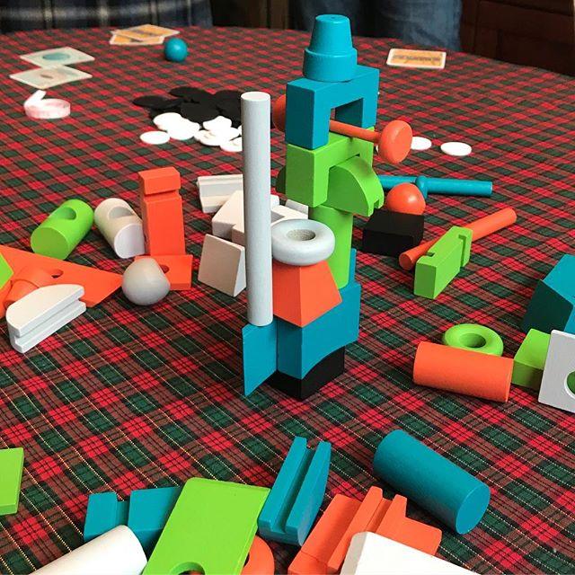 Artsy holiday fun ;) #junkart #bgg #boardgames #analoggames