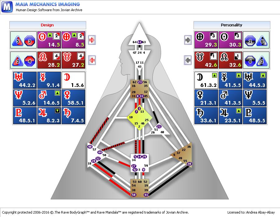 human-design-chart-analysis
