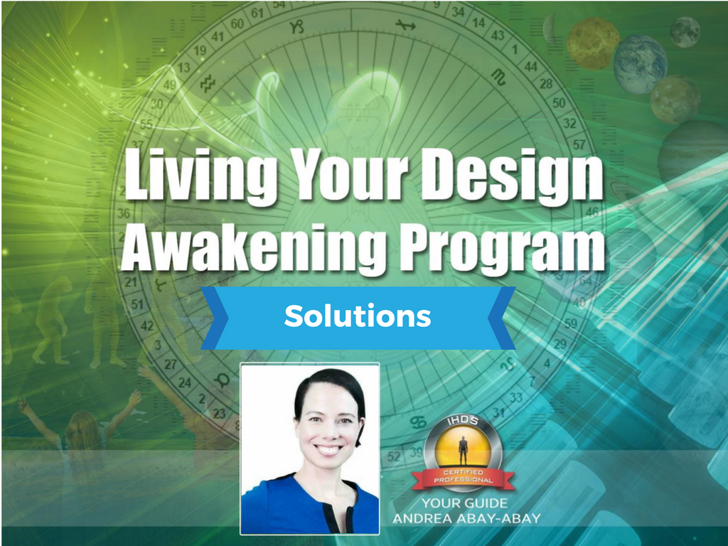 Living Your Human Design Solutions