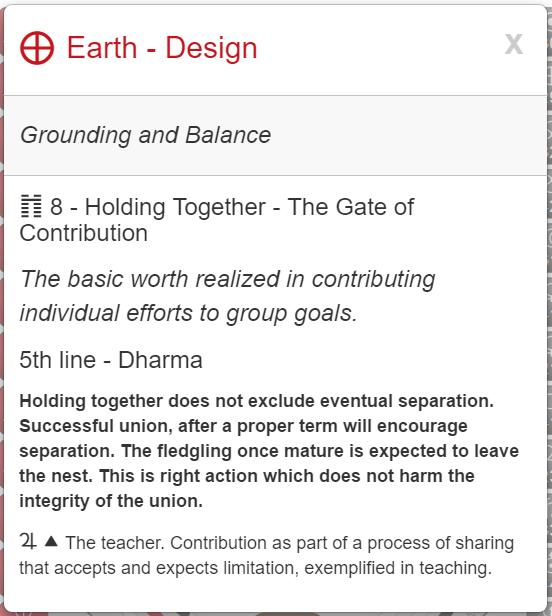 My Unconscious Grounding & Balance.  Rave   I-C  hing i  mage via MyBodygraph.com