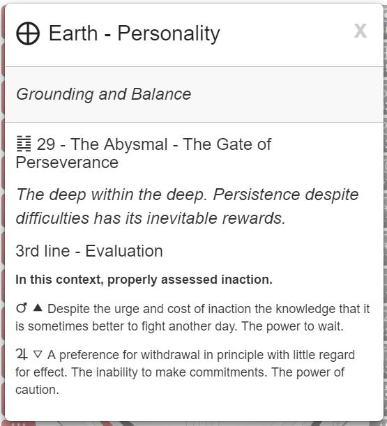 My Conscious Grounding and Balance. Rave   I-C  hing i  mage  via MyBodygraph.com