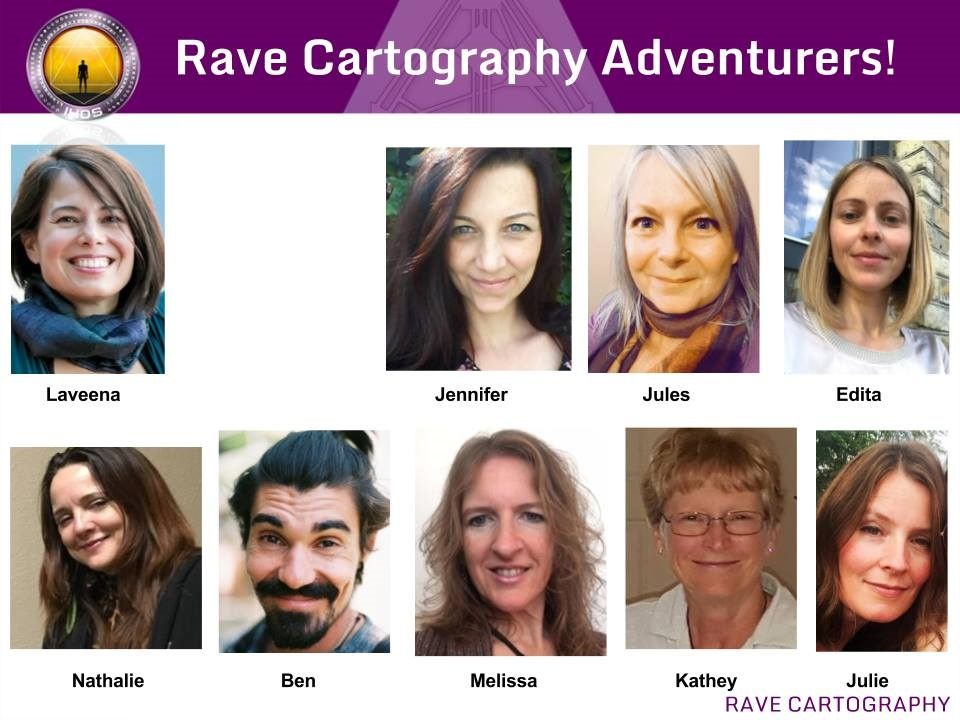 Rave Cartography Human Design Adventurers