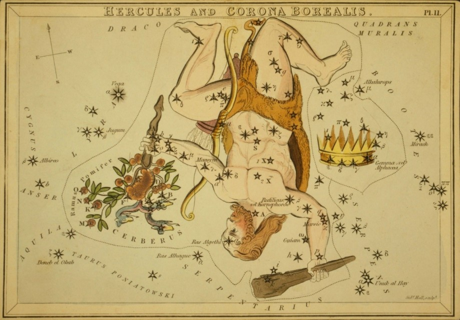 Constellation Corona Borealis [Urania's Mirror]