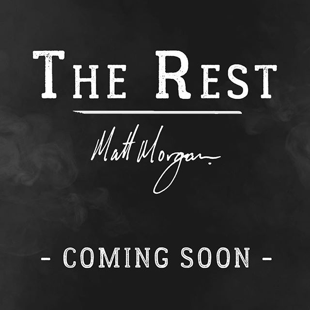 """""""The Rest"""" COMING SOON.  I wrote the guitar part for this song sometime in 2015 I believe, in New Mexico and could never find the words that fit... I tried several times throughout the years and could never find the words that I felt belonged... I wrote the rest of this song, no pun intended, early November of 2017 while sitting in my room in Las Vegas NV.  This version recorded @rivergatestudios in Nashville TN.  This song really got to cut its teeth while I was out on the road early 2018 with @elvismonroeofficial and @3doorsdown . I want to say a huge thank you to @bencareymusic and @bryanhopkins69 of Elvis Monroe for taking me out on the road with them and the many opportunities they selflessly shared for me to play this song!! Second, thaaaank you to Ben for really helping me shape this song into what it is today! A genuine thank you to the 3 Doors Down band and crew for sharing their stage and being behind Ben and Bryan's plan to surprise me and give me the stage to play this song our last two shows of the tour... Joliet was an unforgettable moment!! To @chet3doorsdown and @greg3doorsdown_ thank you guys so much for inviting me out to the studio to record this song, for helping produce, for performing on this track, and for making this song come to life! Such a fun time out there haha! To @heyimsapling and @camdenwestmusic , for spending their entire day with me in the studio lending their creative minds and musical ears as we worked on this song! Thank you all so much!  My initial plan was to document the whole recording process, but when I got there, I realized what I really wanted to do, was to just spend my energy focusing on creating the music and enjoying the process... although I can't share the recording experience quite the same way with you all now, the music is there, and I'll truly carry the experience, the laughter, and the memories with me long after..."""